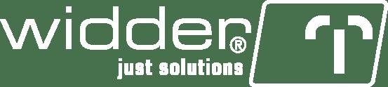 Widder Logo, weiß auf transparentem Hintergrund