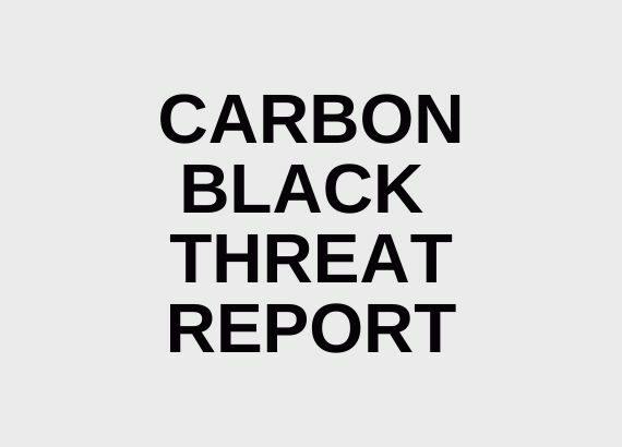 Schriftzug: Carbon Black Threat Report